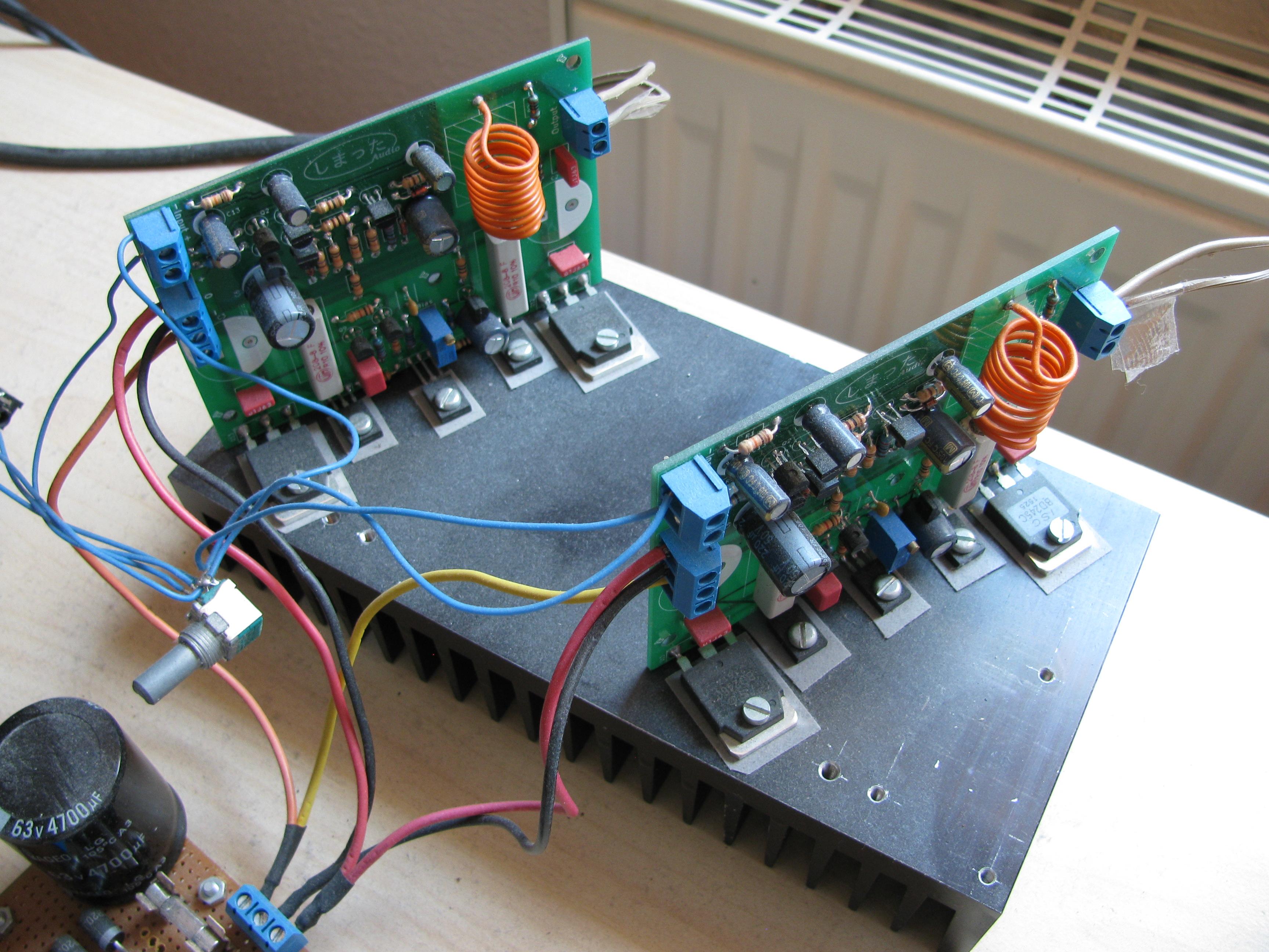 diy power amplifier. Black Bedroom Furniture Sets. Home Design Ideas